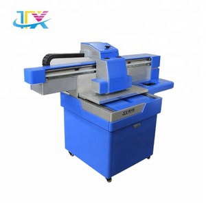 Automatic uv flatbed mobile phone sticker printer cd dvd printing machine