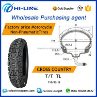 motorcycle tires 110/90-16 T/T TL cross country wholesale car motorcycle tires out sourcing company