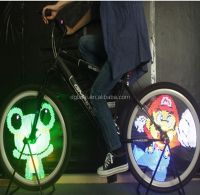 96LED colorful lights 13 cool patterns led bike bicycle wheel light