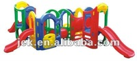CE indoor plastic kids slides for home, kindergarten, Mcdonalds and KFC