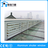 Golden supplier arched window shutters louvered window shutters