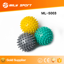 Hot Selling Self Exercise Spiky Massage Ball Multi Functional massage Yoga Ball Fashion spiky Hand Ball