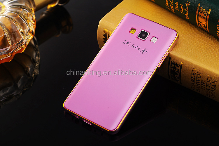 Luxury Ultra-thin Aluminum Metal Bumper PC Back Case Cover For Samsung Galaxy A5