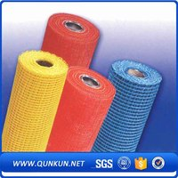 High quality plastic colored anti mosquito netting / fiberglass fly screen