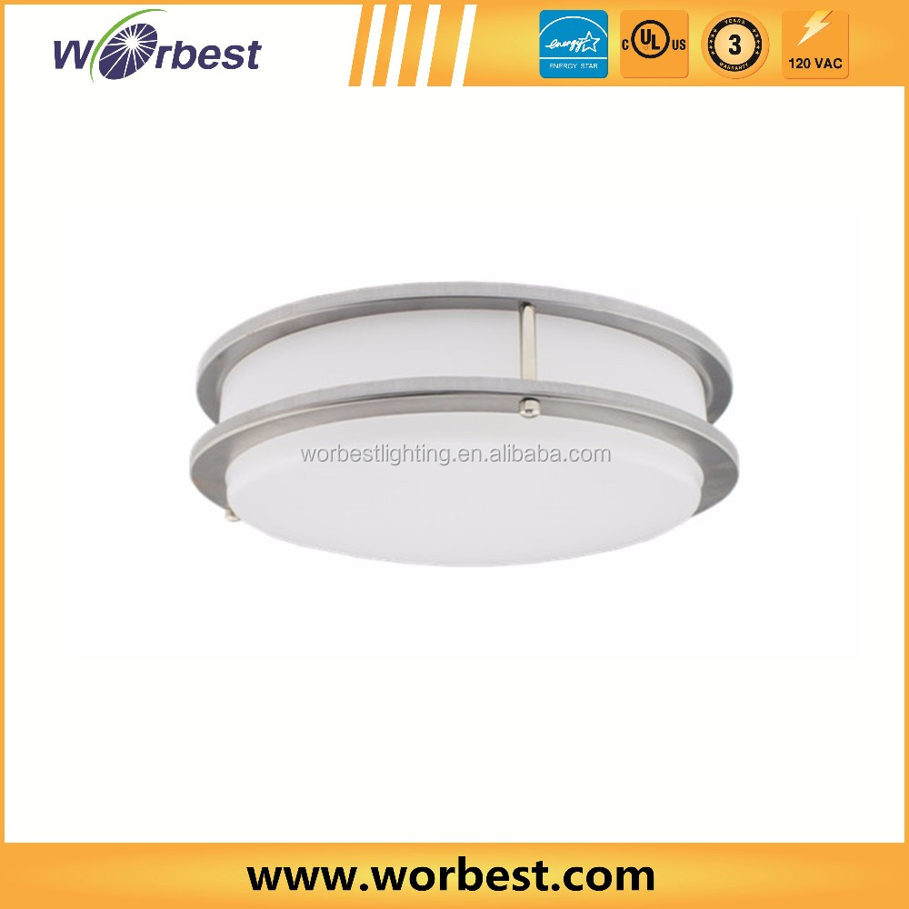 high quality acrylic ceiling mount fixture dimmable 5000k kitchen led ceiling light fittings