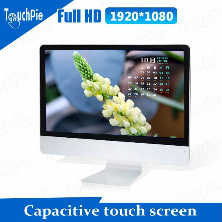 21.5 inch 1920*1080 HD touch screen desktop laptop <strong>computer</strong> I7 all in one pc