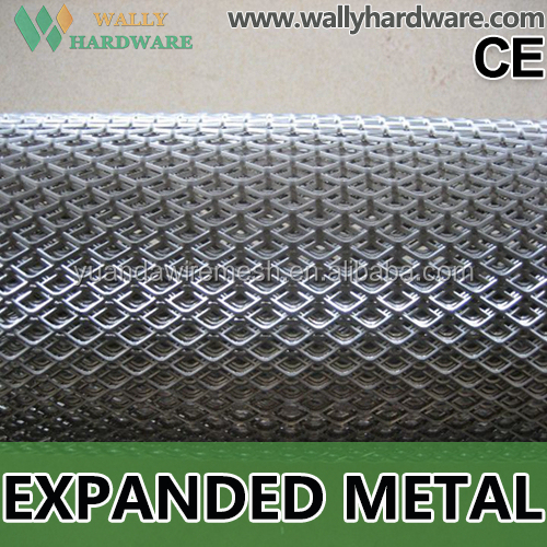 Metal Building stretched Aluminum perforated mesh heavy duty galvanized wire mesh aluminum expanded