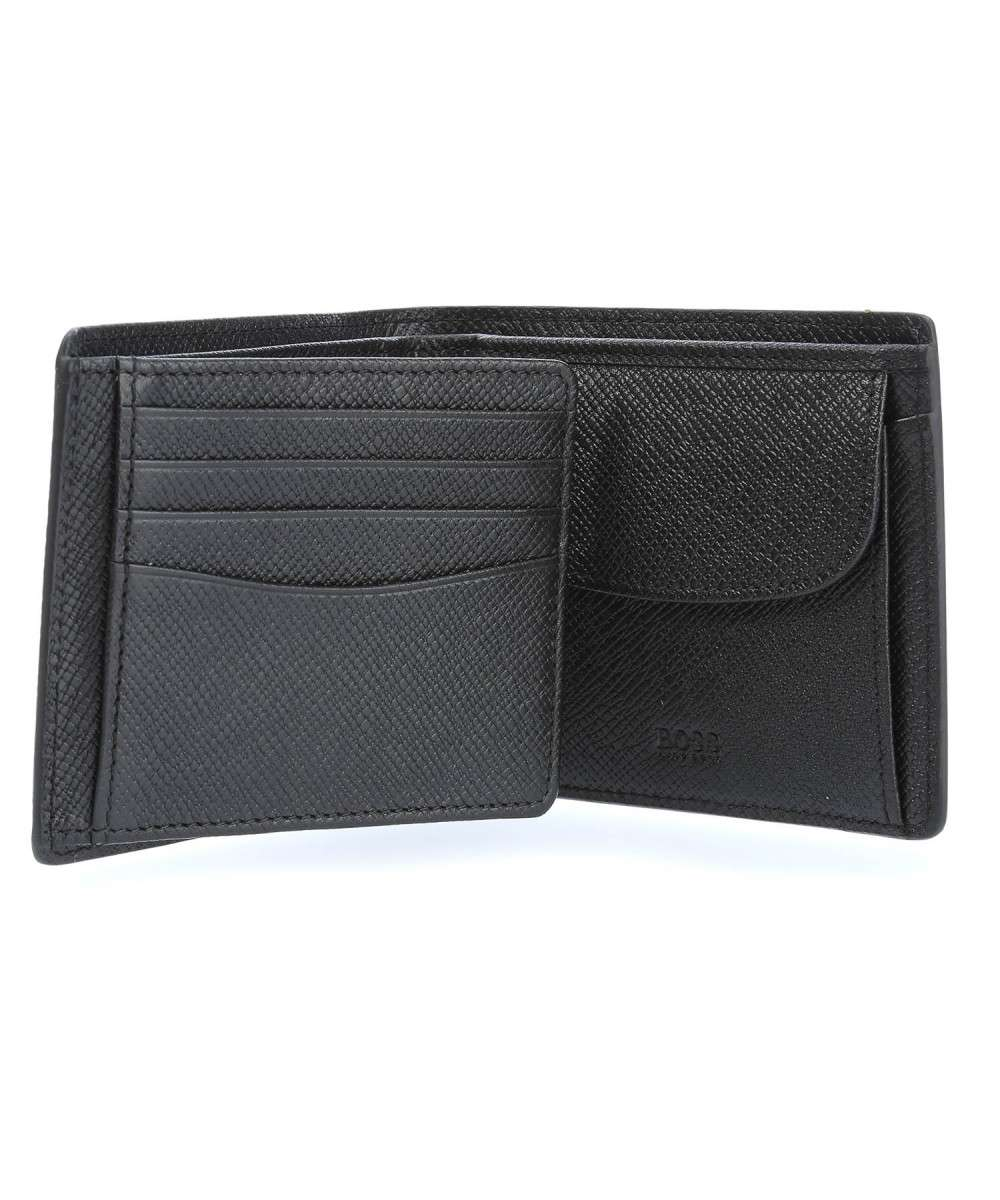 Multipurpose minimalist slim saffiano leather wallet for men