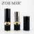 Makeup packaging eco friendly square lipstick container black tube for wholesale