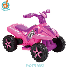WDTR1002 Cheap Racing Go Kart Mini Kids Pedal Electric Go Kart Hello Kitty Toy Car