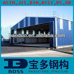 BV CERTIFICCATION steel structure metal house