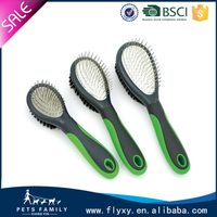 Best quality promotional vibrating pet brush and massager