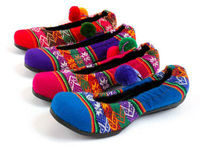 Peruvian Ethnic Ballerinas shoes