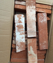 red brick wall tile exterior, standard red brick size