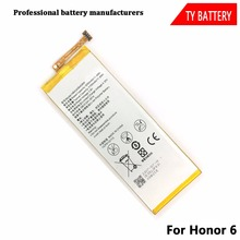 Replacement gb t18287 2013 Mobile Phone Battery HB4242B4EBW For HUAWEI Honor 6
