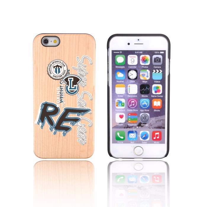 Trade Assured Rose Wood TPU Case For Iphone 6