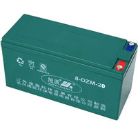 Hot sell 16v20ah sealed lead acid battery 8-DZM-20 triciclos three wheel