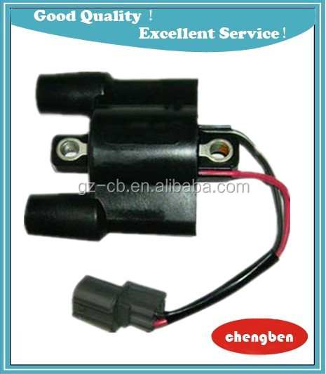 Performance Ignition Coil OEM F6T557 63P-82310-01-00 F150 F50 F75 F90 Stroke Ignition Coil