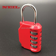 Zinc Alloy 4 Digit Combination Lock Resettable Code Lock