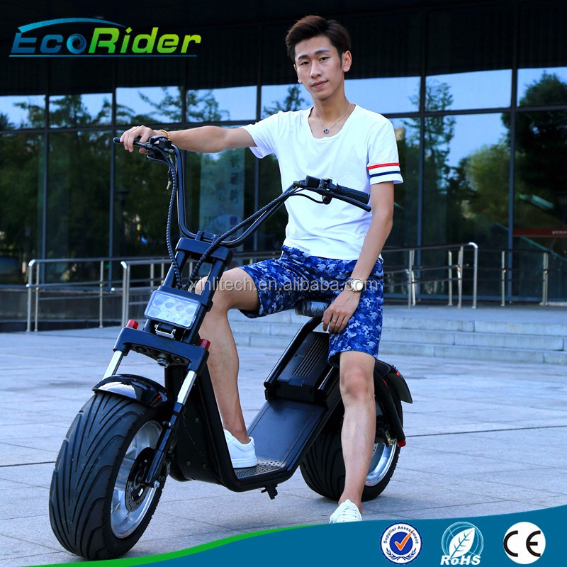 Fashion City Bike 2017 New Arrival City Scooter, 60V Lithium Battery Two Wheels City Bike Scooter Electric Motorcycle