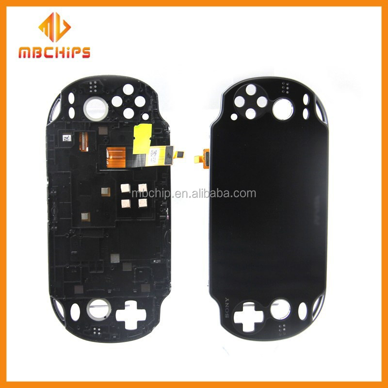For PS Vita LCD Screen + Digitizer Touch screen Replacement Assembly + Frame