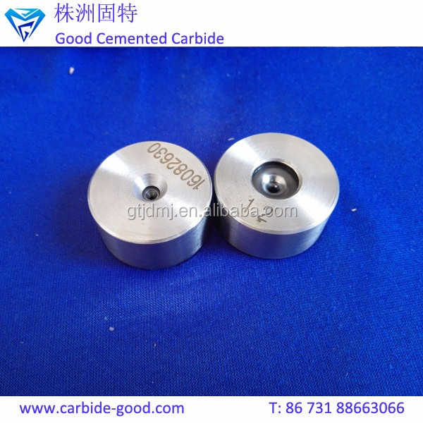 Cemented / Tungsten Carbide Wire Drawing Die Nibs Carbide Mold Core / Pellets Without Steel Casing For Wire Drawing Application