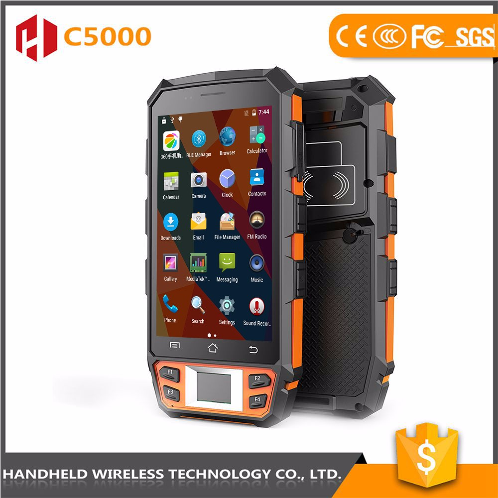 Fine workmanship high quality handheld C5000 rugged ip65 andrioid 4g pda target pda