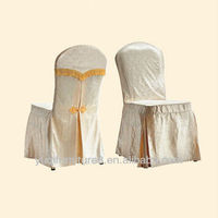 Economical and practical lace chair covers wedding