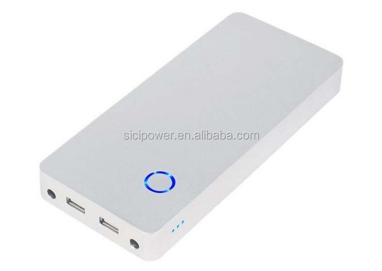 famous brand mobile power bank 20000mAh with 100% safe quality assurance