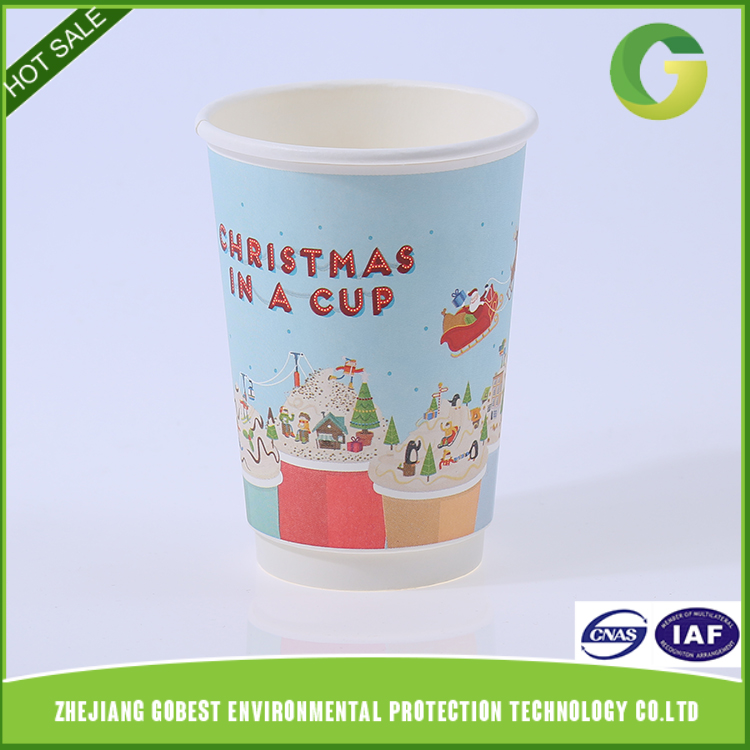 Whole Sales Customized Disposable Double Wall China Suppliers Paper Cup