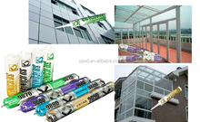 neutral silicone to sealing seams of roofs, display tables and billboards
