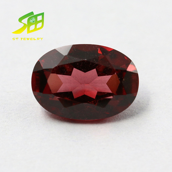 5*7mm natural garnet loose gemstone