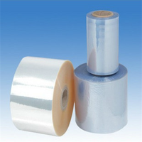 Clear PVC shrink film roll plastic wrapping film roll