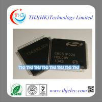 C8051F020-GQR original IC 8051 MCU 64K FLASH 100TQFP and Mixed-Signal 64KB ISP FLASH MCU