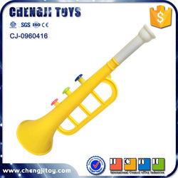Cheap toy musical horn mini bugle plastic trumpet for kids
