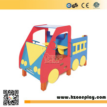 HDPE Truck Toy Perschool Play Toy for Kids