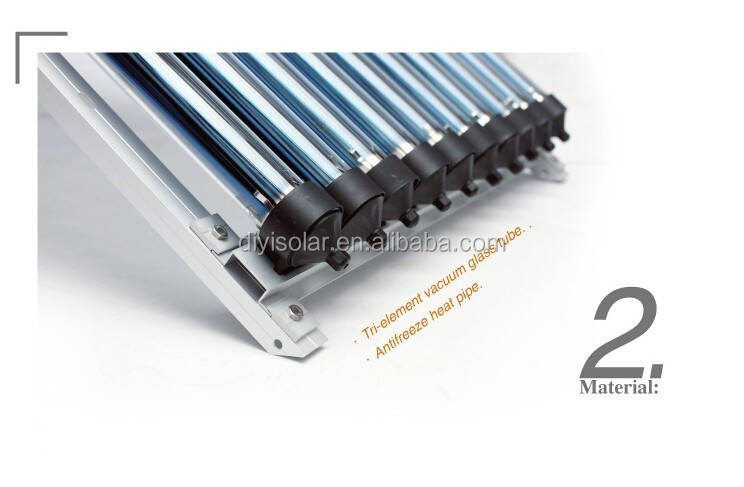 Solar Thermal System Heat Pipe Solar Collector