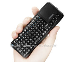 Factory price! bluetooth wireless Mini keyboard with Touchpad for ipad/iphone android tablet pc and ipad mini