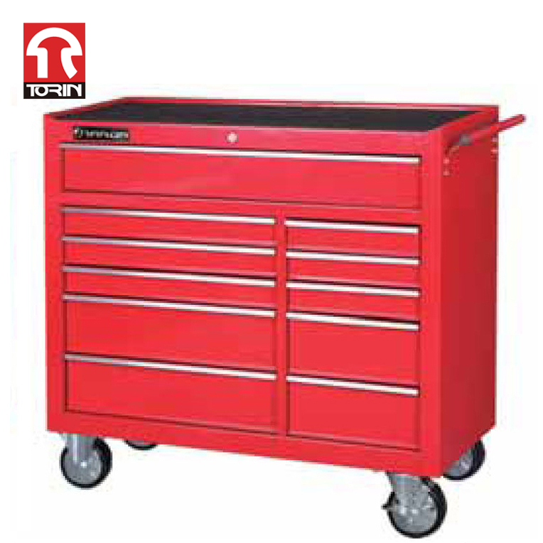 Torin TBR4711-X New design 4 wheel metal tool cart / trolley with OEM service