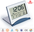 2017 trending product mini folding travel alarm clock , promotional digital alarm clock