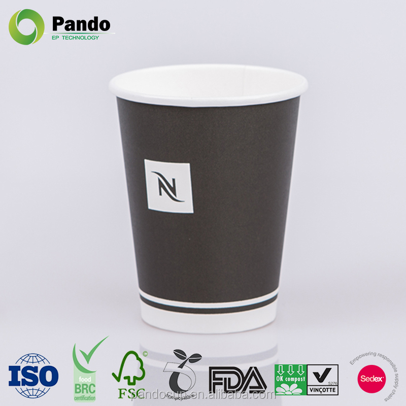 Printed Disposable Hot Bulk Paper Coffee Cups