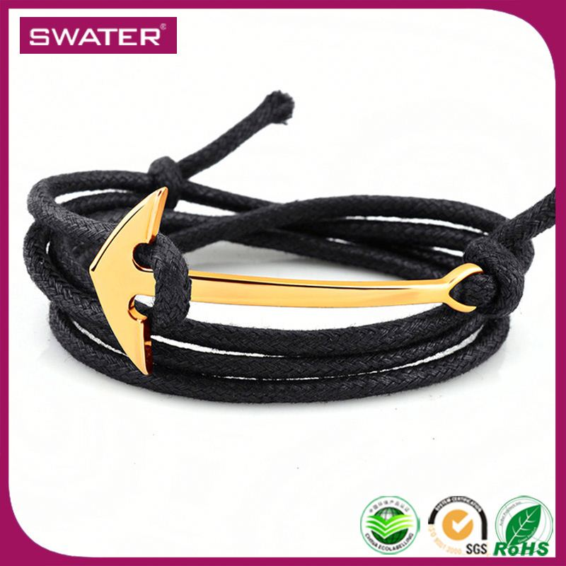 Women Accessories 2017 Anchor Fish Hook Bracelet Paracord