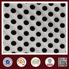 Feimei dot print fabric CVC south american textile wholesale