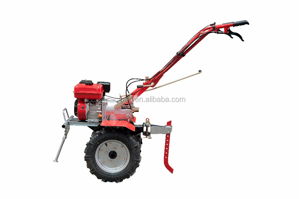 For farming use ploughing soil gasoline powerful tiller cultivator