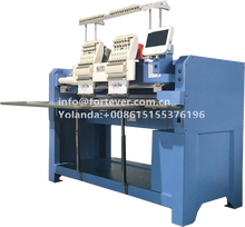 Barudan Type high speed 2 heads cap embroidery machine