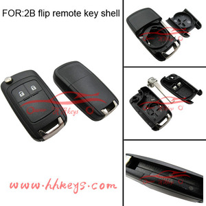 High quality replace car key shell 2 button remote control key for Buick car