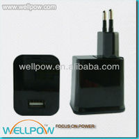 demountable E.U usb travel charger for IPAD 4