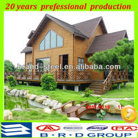 Fireproof and heat insulation movable prefab wooden house