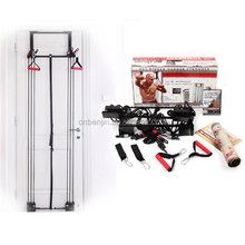 Fitness Equipment Home Power Exercise Tower 200 Resistance Band Door Gym with Pulley