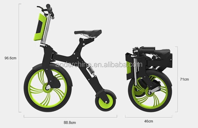 NO 1 power motor adults electric foldable bike for sale